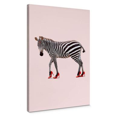 Leinwandbild Loose - Zebra Heels
