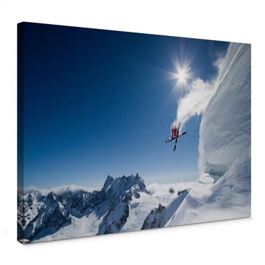 Leinwandbild Tristan - Wintersport