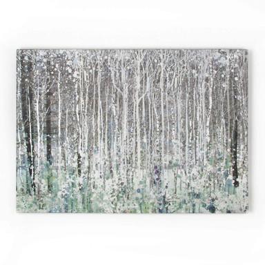 Leinwandbild Watercolour Woods - Bild 1