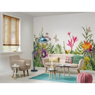 Livingwalls Fototapete Designwalls Motley Flowers Blumen