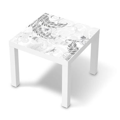 Möbelfolie IKEA Lack Tisch 55x55cm - Florals Plain 2