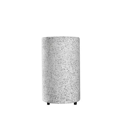 Stehleuchten Mundan in Grau E27 IP44 400mm
