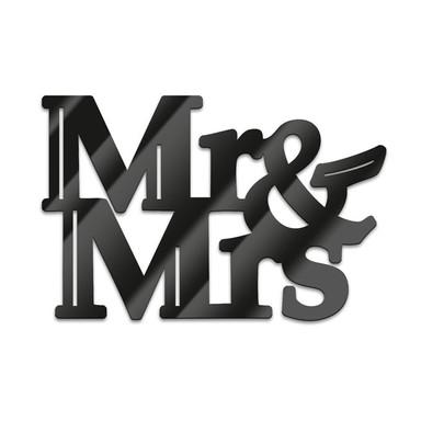 Acryl-Anhänger Mr&Mrs