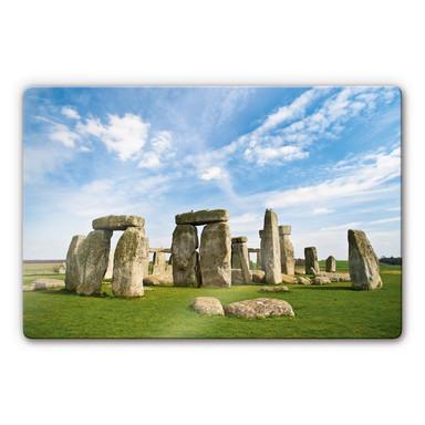 Glasbild Stonehenge 2