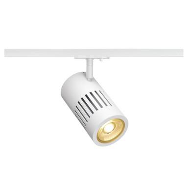 LED 1-Phasenschienen Spot Structec in Weiss 28W 3000K