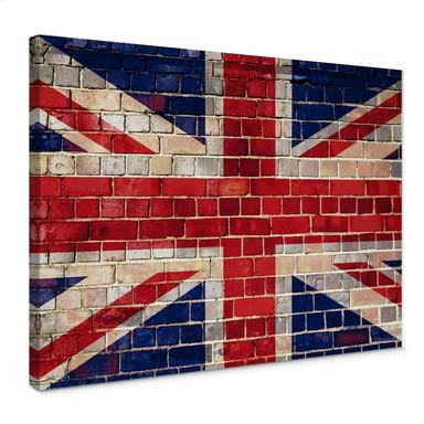 Leinwandbild Union Jack Mauer