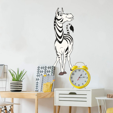 Wandsticker Benjamin Blümchen Zebra Zila