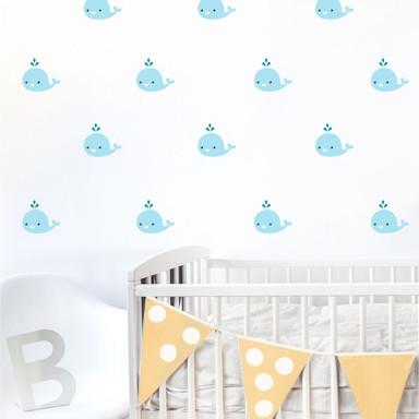 Wandtattoo Babywal Set