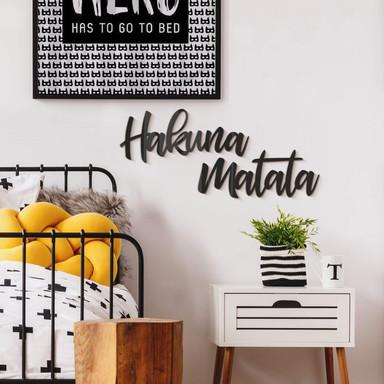Acrylbuchstaben Hakuna Matata (2-teilig)