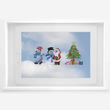 Fensterbild Weihnachtsbundle 2
