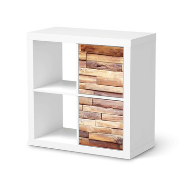 Klebefolie IKEA Expedit Regal 2 Türen (hoch) - Artwood