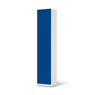 Klebefolie IKEA Pax Schrank 236cm Höhe - 1 Tür - Blau Dark- Bild 1
