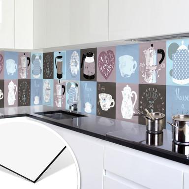Küchenrückwand - Alu-Dibond - Loske - Coffee Time