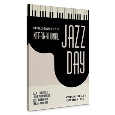 Leinwandbild Kubistika - Jazz Day