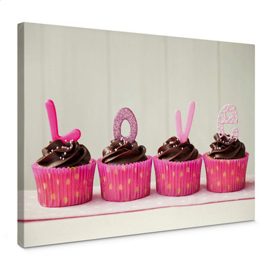 Leinwandbild Lovely Cupcakes