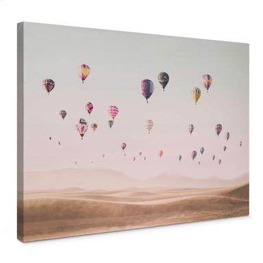 Leinwandbild Sisi & Seb - Heissluftballons