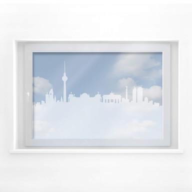 Milchglasfolie Berlin Skyline