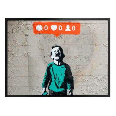 Poster Banksy - Nobody likes me