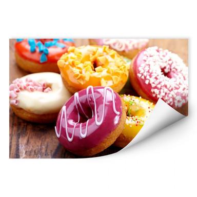 Wallprint Zuckersüsse Donuts