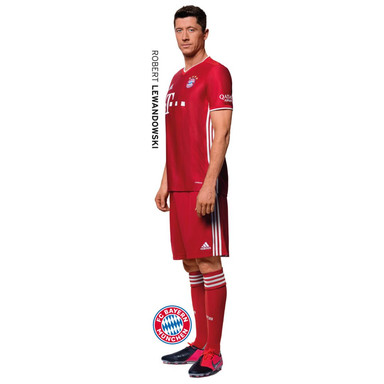 Wandsticker FCB Robert Lewandowski