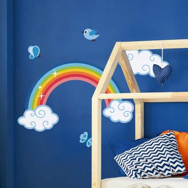 Wandsticker Regenbogen für Jungs