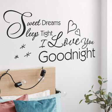 Wandtattoo Sweet dreams, sleep tight...