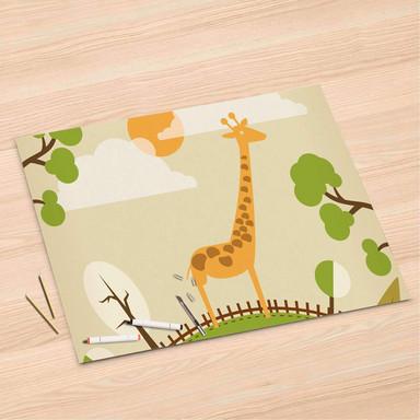 Folienbogen (120x80cm) - Mountain Giraffe