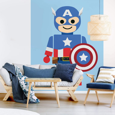 Fototapete Gomes - Captain America Spielzeug