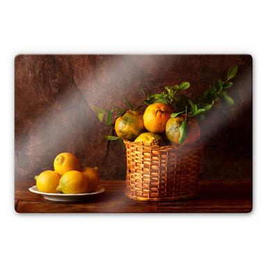 Glasbild Laercio - Farmers Lemons
