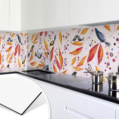 Küchenrückwand - Alu Dibond - Farbenrausch