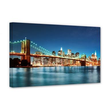 Leinwandbild - Lights in New York City 02