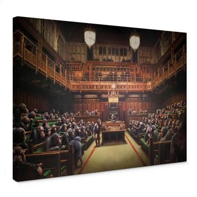 Leinwandbild Banksy - Devolved Parliament