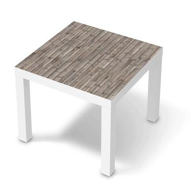 Möbelfolie IKEA Lack Tisch 55x55cm - Dark washed