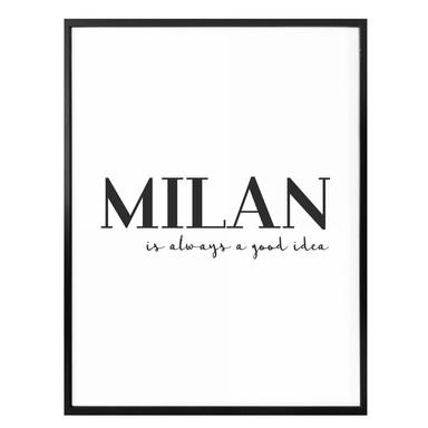 Poster Milan