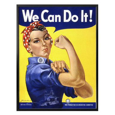 Poster Vintage We can do it
