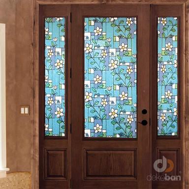 Sichtschutzfolie Bleiglas 90 x 150cm - Bild 1