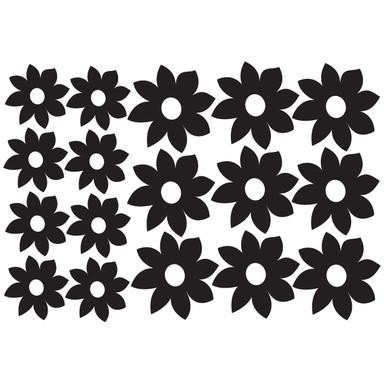 Wandtattoo Blüten-Set 4