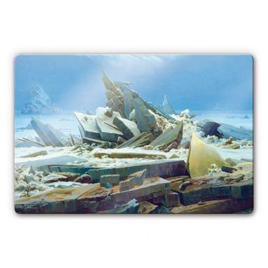 Glasbild Friedrich - Das Eismeer