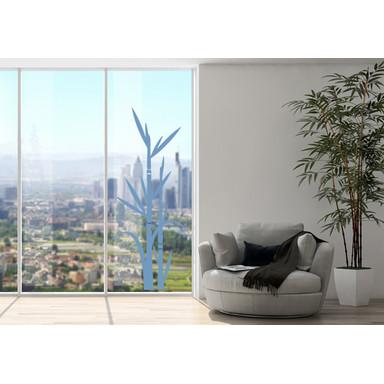 Glasdekor Bambus