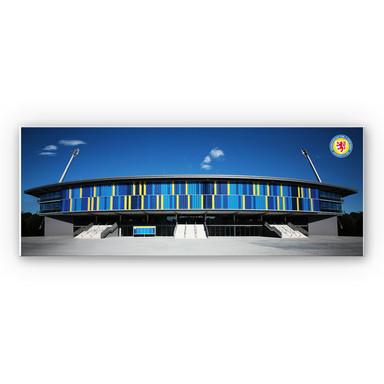 Hartschaumbild Eintracht Braunschweig Stadion - Panorama