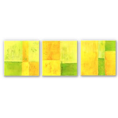 Hartschaumbild Schüssler - Spring Composition (3-teilig)