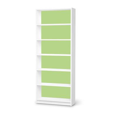 Klebefolie IKEA Billy Regal 6 Fächer - Hellgrün Light- Bild 1