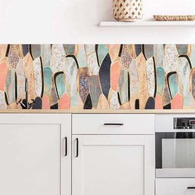 Küchenrückwand Fredriksson - Goldene Steine