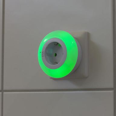 LED Zwischenstecker in Weiss 0.8W 6500K