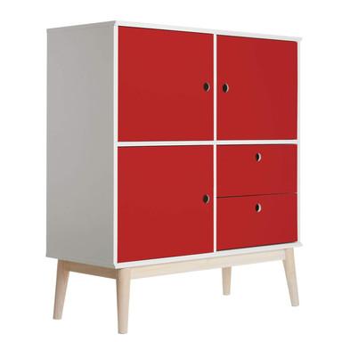 Möbelfolie - Uni Rot