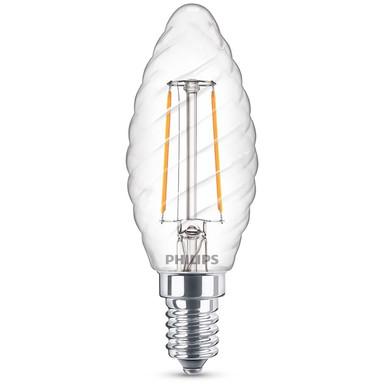Philips LED Lampe ersetzt 25W, E14 Kerzeform ST35. klar, warmweiss, 250 Lumen, nicht dimmbar, 1er Pack Energieklasse A&& - Bild 1