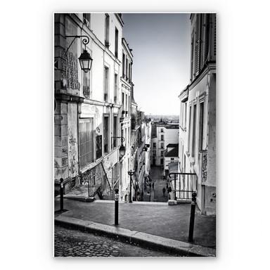 Wandbild Montmartre
