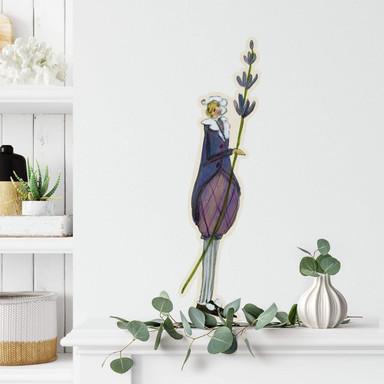 Wandtattoo Leffler - Blütenelfe September