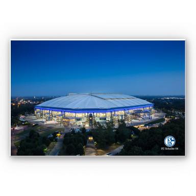 Hartschaumbild Schalke Arena 02