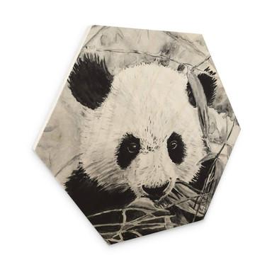Hexagon - Holz Toetzke - Pandabär